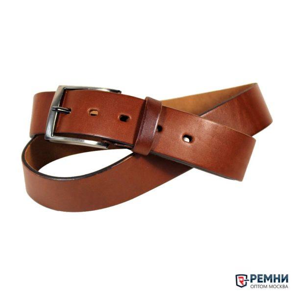 Ремень Belt Premium 40 мм, коньяк
