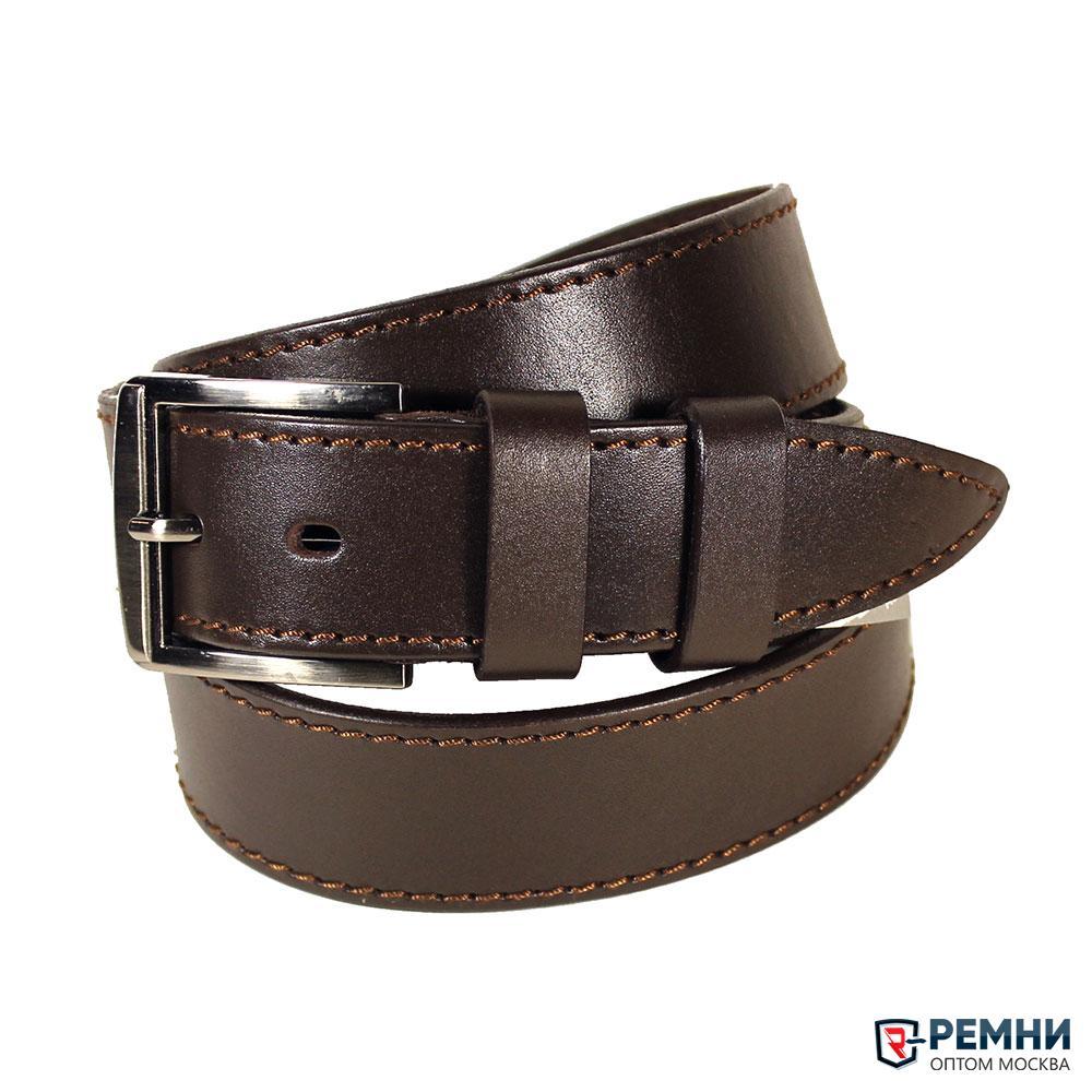 Belt Premium 40 мм, коричневый, гладкий