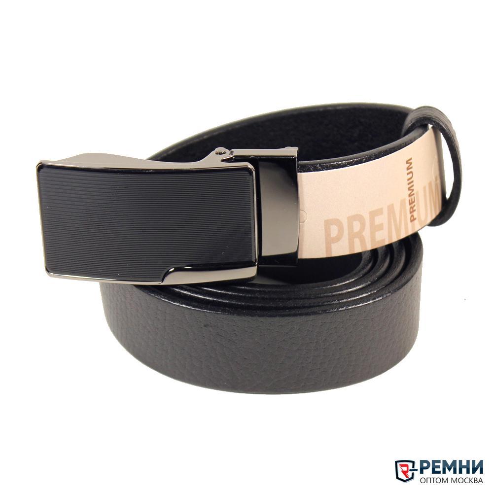 Belt Premium 35 мм, черный, зажим